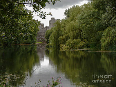 Upriver From Cahir Castle Art Print