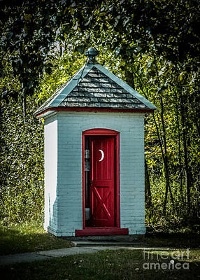 Photograph - Upscale Outhouse by Ronald Grogan
