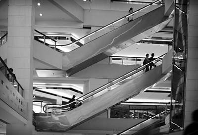 Photograph - Upscale Shopping - Hong Kong by Robert Knight