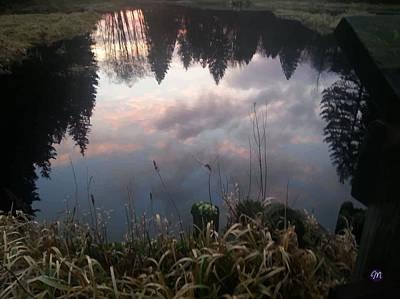 Steampunk - Upside Down Trees by Margaret Shorter