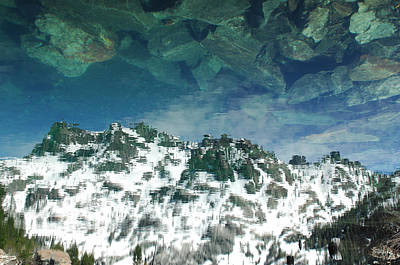 Surreal Art Photograph - Upside Down World by Donna Blackhall
