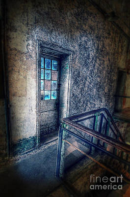 Photograph - Upstairs Hall In Abandoned Building by Jill Battaglia