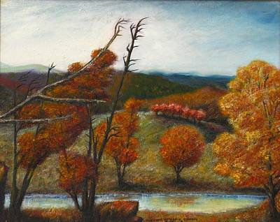 Painting - Upstate by Michael Anthony Edwards