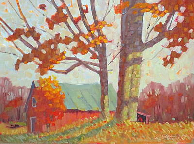 Painting - Upstate New York by Len Stomski