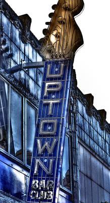 Photograph - Uptown Bar Club by Bill Owen