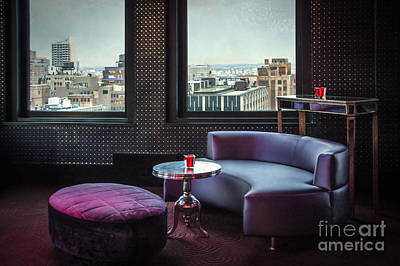 Bar Stools Photograph - Uptown Groove by Evelina Kremsdorf