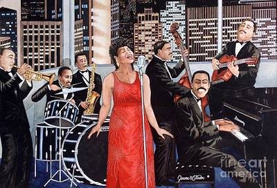 Diversity Painting - Uptown by JL Vaden