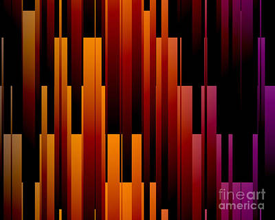 Digital Art - Uptown by Kristi Kruse