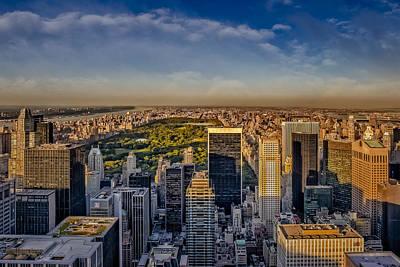 Uptown Manhattan New York City Art Print