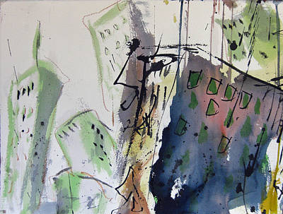 Painting - Uptown by Robert Joyner