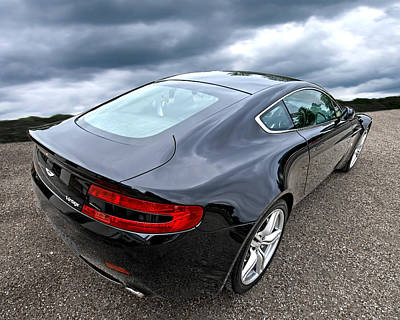 Photograph - Uptown Style - Aston Martin Vantage by Gill Billington