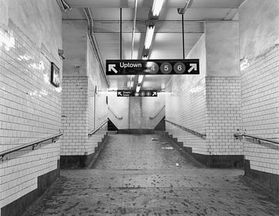 Photograph - Uptown Subway by Dave Beckerman