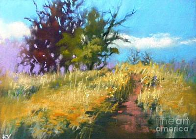 Painting - Upward  by Celine  K Yong