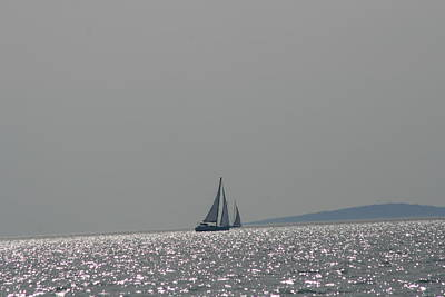 Photograph - Upward Onward  Silver Sailing by Phoenix De Vries
