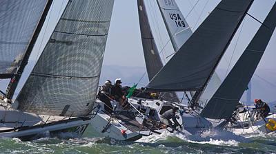 Photograph - Big Boat Series On San Francisco Bay by Steven Lapkin
