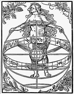 Sphere Painting - Urania, 1502 by Granger