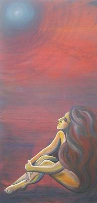 Goddess Painting - Urania The Heavenly by Stacey Austin