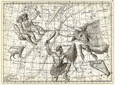 1801 Photograph - Uranographia Constellations, 1801 by Science Photo Library