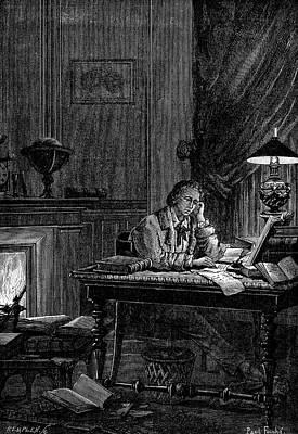 1846 Photograph - Urbain Jean Joseph Leverrier by Universal History Archive/uig