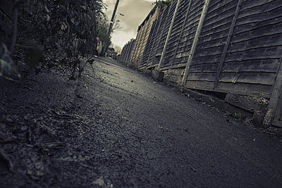 Photograph - Urban Alley  by Stewart Scott