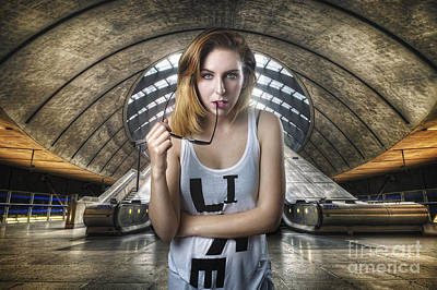 Photograph - Urban Angel 4.0 by Yhun Suarez