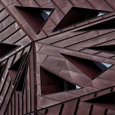 Rotterdam Photograph - Urban Asymmetry by Yvette Depaepe