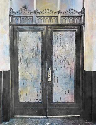 Art Print featuring the photograph Urban Bank Doorway by John Fish