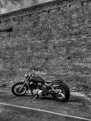 Urban Photograph - Urban Bike 002 by Lance Vaughn