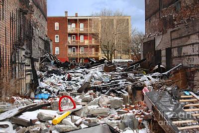 Ghetto Photograph - Urban Blight by Denis Tangney Jr