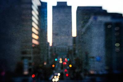 Photograph - Urban Blur I by David Morel