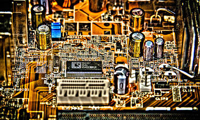 Processor Mixed Media - Urban Chipset by Alex Hiemstra