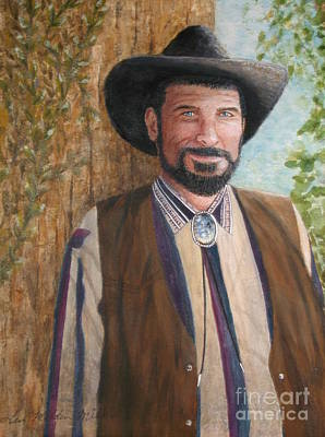 Painting - Urban Cowboy  by Terri Maddin-Miller