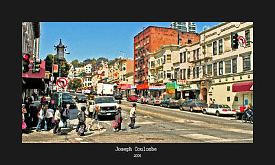 Urban Cross Walks Art Print by Joseph Coulombe