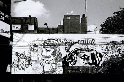 Surreal Urban Art Print