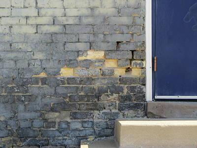 State Love Nancy Ingersoll - Urban Decay Blue Door by Anita Burgermeister