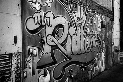Urban Decay In Black And White Art Print by John Hoey