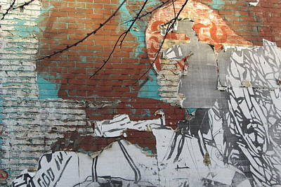 Photograph - Urban Decay Mural Wall 2 by Anita Burgermeister