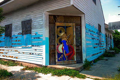 Photograph - Urban Decay New Orleans Style by Louis Maistros