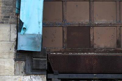 Photograph - Urban Decay Pabst Door Left by Anita Burgermeister
