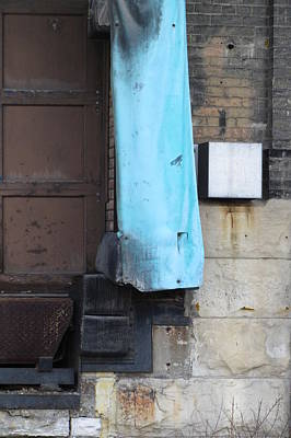 Photograph - Urban Decay Pabst Door Right by Anita Burgermeister