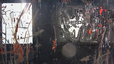 Photograph - Urban Decay Rust 6 by Anita Burgermeister