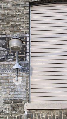 Photograph - Urban Decay Wall Light 1 by Anita Burgermeister