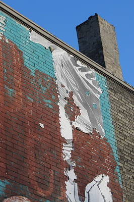 Photograph - Urban Decay Wall Mural 6 by Anita Burgermeister