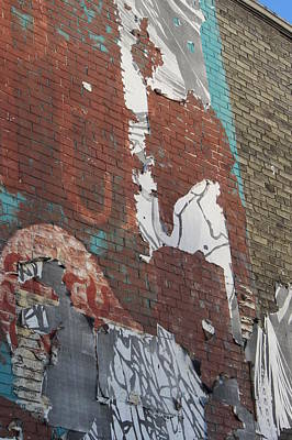 Photograph - Urban Decay Wall Mural 8 by Anita Burgermeister