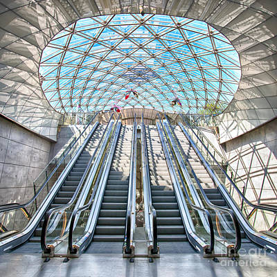 Malmo Photograph - Urban Escalators by Antony McAulay