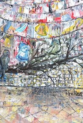 Urban Art Print by Evelina Popilian