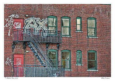 Art Print featuring the photograph Urban Existence by Richard Bean