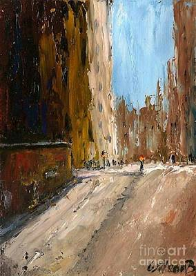 Painting - Urban by Fred Wilson