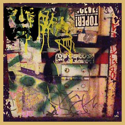 Drips Painting - Urban Graffiti Abstract 1 by Tony Rubino