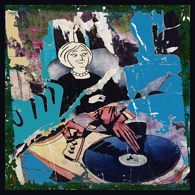 Hiphop Painting - Urban Graffiti Abstract 3 by Tony Rubino